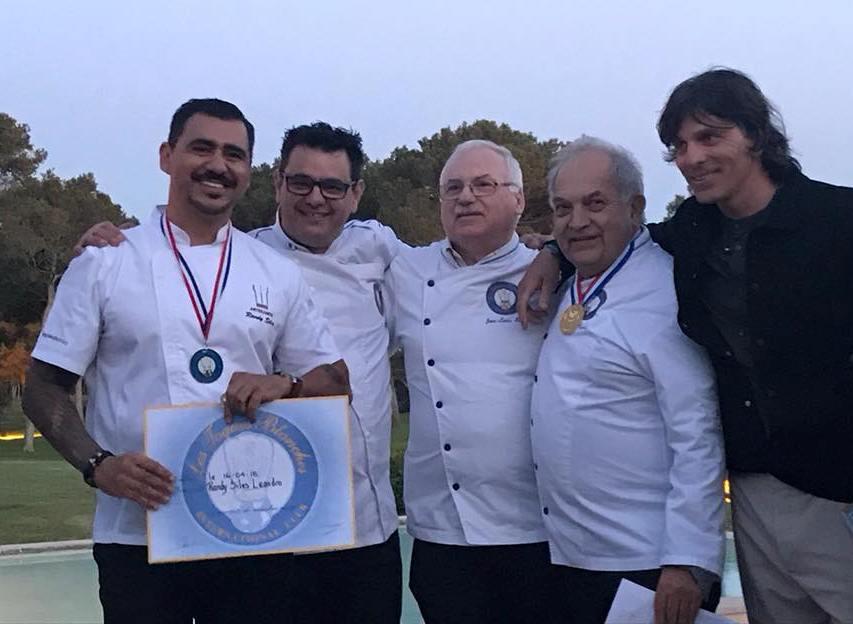 Costa Rican Chef Randy Siles of Hotel Tropico Latino in Santa Teresa.