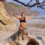 Yoga instructor Nancy Goodfellow at Pranamar Villas in Costa Rica