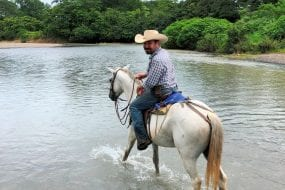 See Santa Teresa's other side on the best Costa Rica horseback riding tour