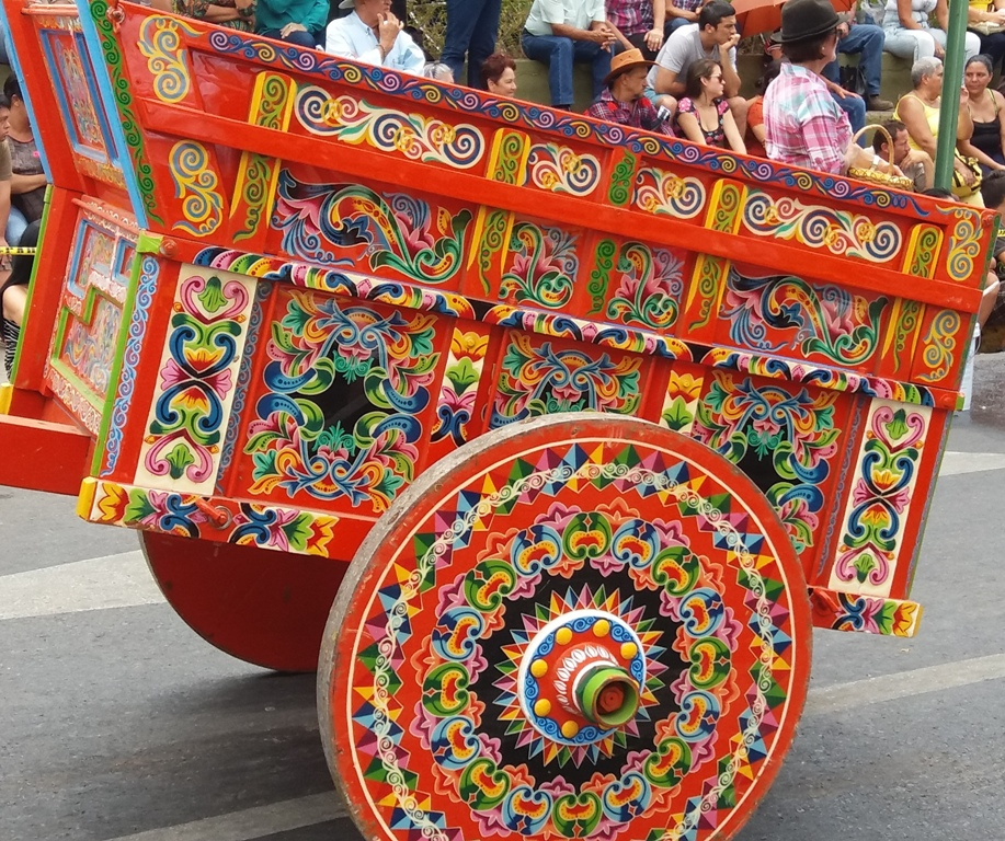 Oxcarts in Costa Rica