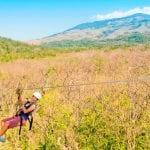 Costa Rica zip line tours at Hotel Hacienda Guachipelin in Guanacaste