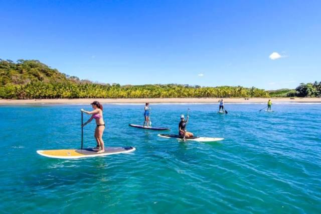 Stand up paddleboarding Santa Teresa Costa Rica
