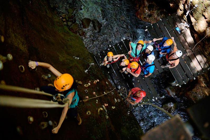 Adventure tours at Hacienda Guachipelin in Costa Rica