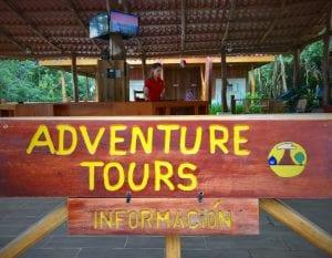Adventure vacation Hacienda Guachipelin