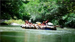 costa rica summer River Tubing Adventure at Hacienda Guachipelin