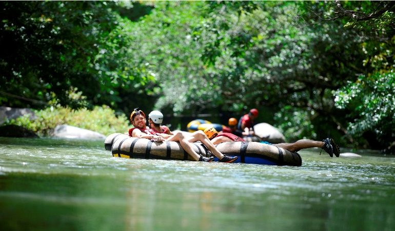 Beat the Costa Rica summer heat on a fun water adventure
