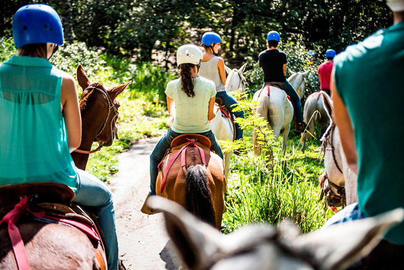 Horseback riding in Guanacaste