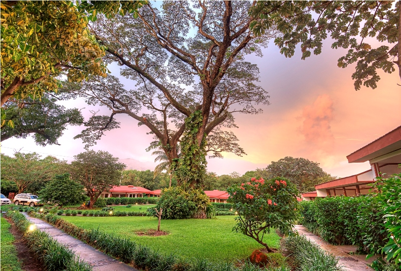 Hotel Hacienda Guachipelin in Costa Rica